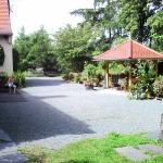 Terrasse mit Pavillon